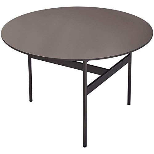 LILICEN LYJ Coffee Table Italian Minimalist Coffee Table Sofa Table End Table Couch Side Table For Living Room Balcony Office Sofa Side End Table (Color : Gray, Size : 72X72X48CM)