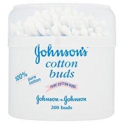 Johnsons & Johnsons Cotton Buds 200s - 200 buds