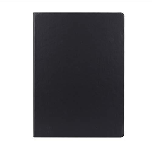 ZANZAN Cuadernos de Notas Cuaderno Especial for los Estudiantes universitarios, portátil clásico con Titular de la Pluma, Negro, A4, Reunión Registro portátil, 297Pages, 8.2x11.6 blocs de Notas