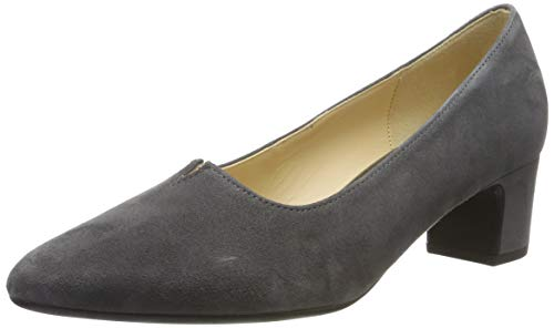 Gabor Damen Fashion Pumps, Grau (Dark-Grey 19), 40 EU