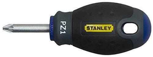 Preisvergleich Produktbild Stanley FatMax Schraubendreher Pozidriv PZ1 (30 mm Schwertlänge,  Chrom-Vanadium,  ergonomischer SoftGrip Handgriff) 0-65-408
