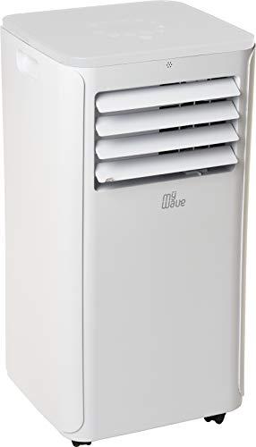 MyWave MWAC-9K Aire Acondicionado Portatil De 2250 Frigorías, Ventilador, Deshumidificador y Refrigerador con Control Remoto
