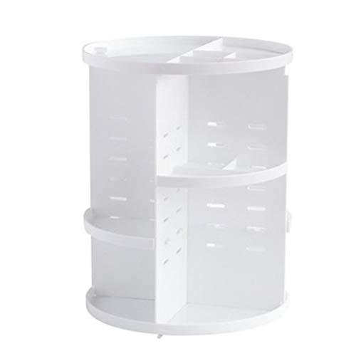 UWY Organisateur de Maquillage - Support de Maquillage détachable Rotatif à 360 degrés, boîte de Rangement pour Organisateur de cosmétiques de Grande capacité, Noir