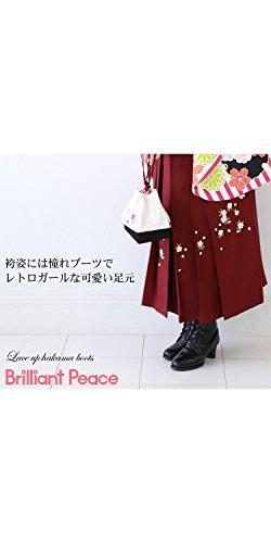 洋服・小物なでしこブリリアントピース『編み上げ美脚ブーツ』