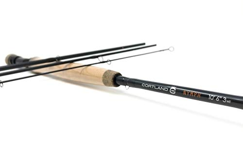 """NYMPH SERIES Cortland Fly Rod 10 Foot 6 INCH 3 Weight 10'6"""" 3WT -  Cortland Line"""