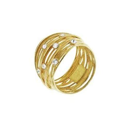 STROILI Ring in Gold Silver