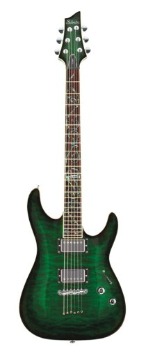 SCHECTER C1 CLASSIC DEEP SEA GREEN