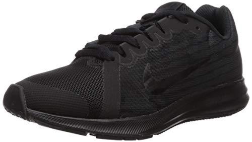 Nike Downshifter 8 (GS), Zapatillas de Running Hombre, Negro (Black/Black/Anthracite 006), 38.5 EU