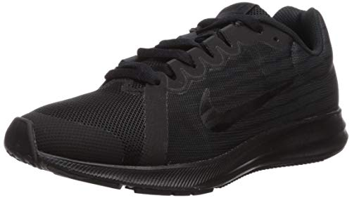 Nike Downshifter 8 (GS), Zapatillas de Running Hombre, Negro (Black/Black/Anthracite 006), 38.5 EU