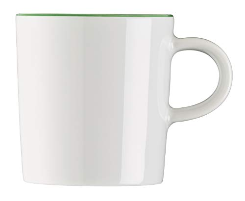 Arzberg Cucina Tasse à Expresso, Tasse, Tasse Expresso, Tasse à Moka, Tasse à Ristretto, Colori Green, Porcelaine, 9 cl, 42100-670662-14717