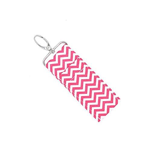 ●Geschenk für Weihnachten●modische und niedliche Mini und praktische Schlüsselbund Chapstick Pouch, Lippenstifthalter Schlüsselbund, Mädchen großes Geschenk großer Halter für Frauen Schlüsselanhänger