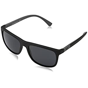 Armani sunglasses for men and women Emporio Armani EA4079 504287 Matte Black EA4079 Square Sunglasses Lens Category,