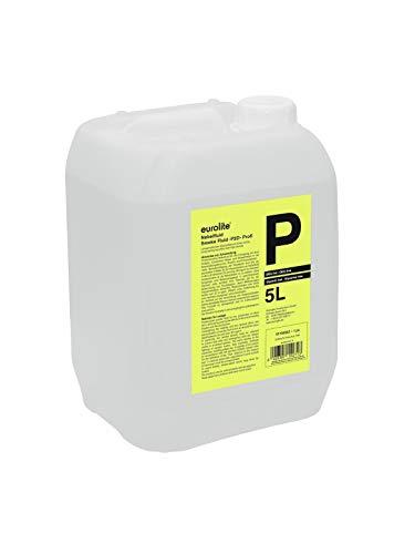Eurolite Smoke Fluid -P2D- Profi 5 Liter | Nebelfluid für Nebelmaschinen | Hohe Dichte und lange Standzeit | Made in Germany | Geruchsneutral auf Wasserbasis | Biologisch abbaubar