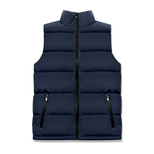 CHIYEEE Heren Winter Gilet Warm Mouwloos Jas Down Katoen Jas Vest Top M-6XL
