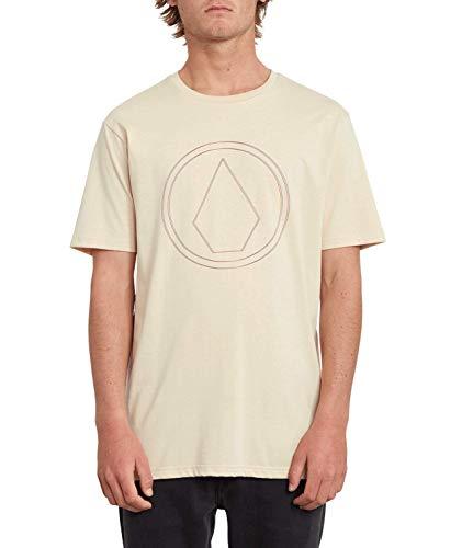 Volcom Pinner HTH SS Camiseta, Hombre, White Flash, S