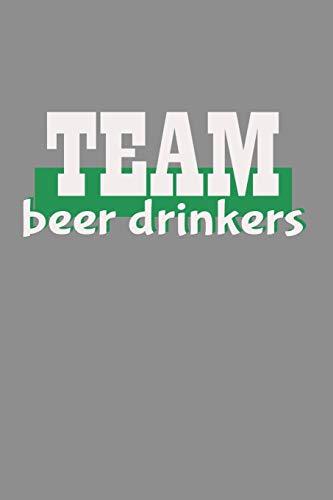 Notizbuch A5 (6X9zoll) Kariert 120 Seiten: Team Bier Trinker Party Verein Geschenkidee