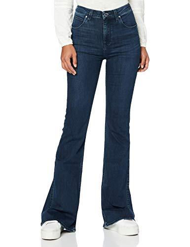 Lee Flare Body Optix Jeans, Clean Aurora, 30W x 29L para Mujer