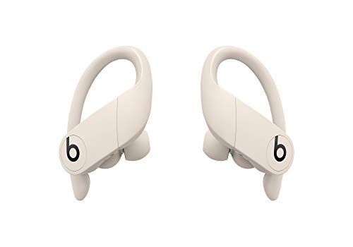 Powerbeats Pro 完全ワイヤレスイヤホン -Apple H1ヘッドフォンチップ、Class 1 Bluetooth、最長9時間の再生時間、耐汗仕様のイヤーバッド - アイボリー