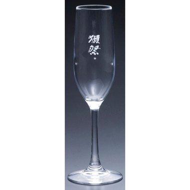獺祭スパークリング乾杯セット(大)純米大吟醸45発泡360mlとフルートグラス2脚山口県旭酒造日本酒