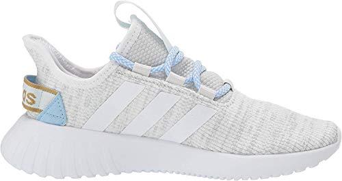 adidas Women's Kaptur Sneaker, Tint/White/Glow Blue, 9.5 M US