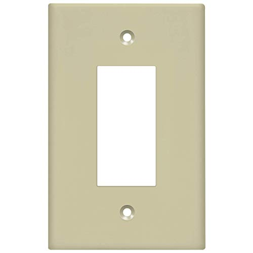 Ivory Decorator Wall Plate - 8