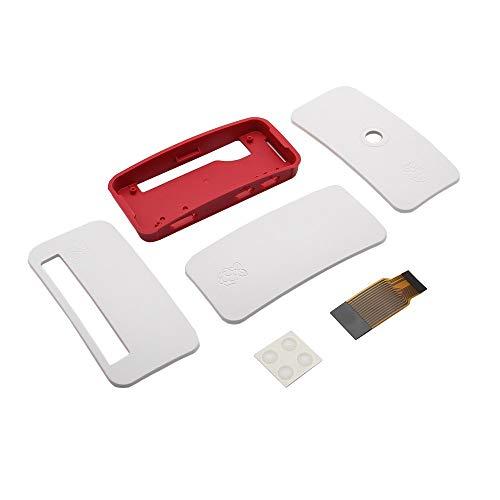 OperationCwrl Raspberry Pi Zero Official Case with GPIO and Camera Hole for Raspberry Pi Zero & Zero W