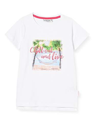 Salt & Pepper Mädchen 03112280 T-Shirt, Weiß (White 010), (Herstellergröße: 92/98)