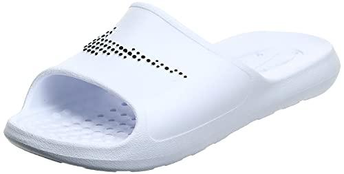 Nike Herren Victori One Slide Sandal, White/Black-White, 41 EU