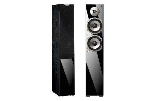 Quadral Argentum 371–Lautsprecher (Speaker Set Unit, Flur, Reflex, 100W, 150Watt, 88dB) schwarz