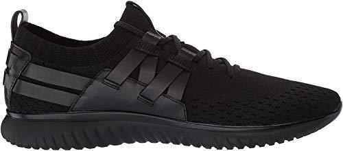 Cole Haan Men's Grand Motion Woven Stitchlite Sneaker, Black/Black, 15 M US