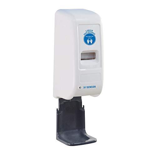 Dispenser Automatico TLT con fotocellula per Gel igienizzante, Da parete o colonnina, Contiene 1 litro di gel, con Salvagoccia incluso omaggio - NON SI TOCCA E NON SI RISCHIA