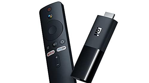 Android Smart TV Box Wi-Fi Dual Band, Risoluzione FHD 1080p,Tv Stick Supporta Playstore Dazn Primevideo Netflix con Telecomando Comandi Vocali Google
