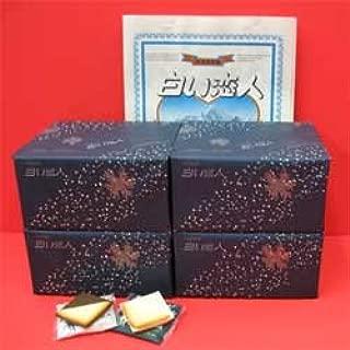 北海道銘菓】白い恋人 36枚缶入×4箱 (ホワイト27枚・ブラック9枚)