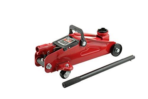 "K Tool International 2 Ton Trolley Jack; Lifting Range 5-1/8"" to 13"", Heavy-Duty Steel Construction; KTI63103A"