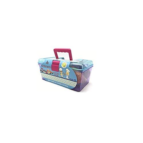 Tachan - Maletin con alimentos para cortar, 33 piezas, azul (Tachan 7288309)