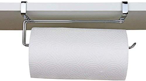 WTT toiletpapierhouder Family Bathroom Kitchen toiletpapier Solid Color Simple papierhanddoekhouder wandmontage-papiermachine (grootte: zilver)