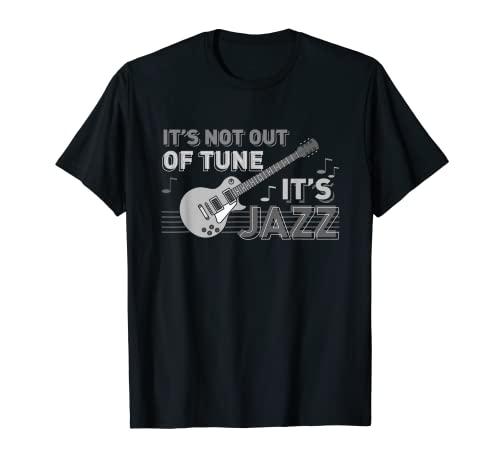 No desentona es jazz   guitarra jazz músicos de jazz Camiseta