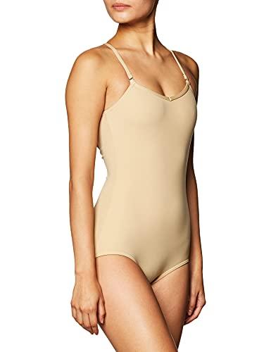 Capezio Women's Camisole Leotard With Adjustable Straps,Nude,Small