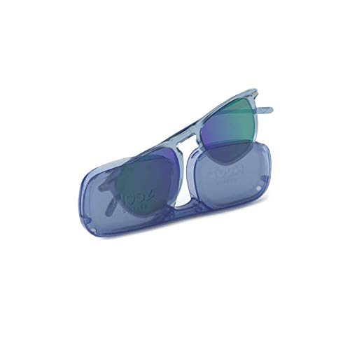 Sunglasses polarized for Men and Women 100 UV protection Light Blue Colour with Compact Case DINO Collection