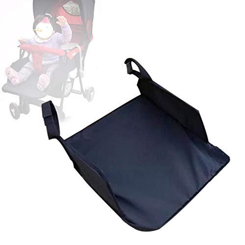 Reposapiés para niños Reposapiés universal Pedal del asiento extendido, accesorios de automóvil para niños y paraguas de bebé, buggy de viaje para niños Paño de Oxford y tabla de PE extendida por 32cm