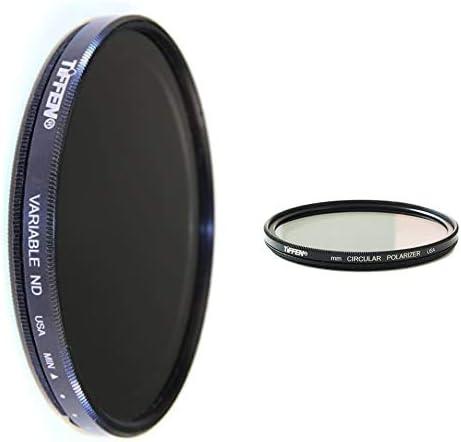 Genuine Hoya 55mm Slim Polarizador Circular Filtro Polarizador Vidrio de alta calidad.