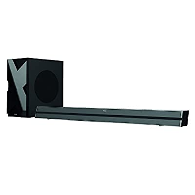 DGTec FS18S 140 W Bluetooth Device Streaming 2.1 Channel Soundbar/Wired Subwoofer - Black by DGTec