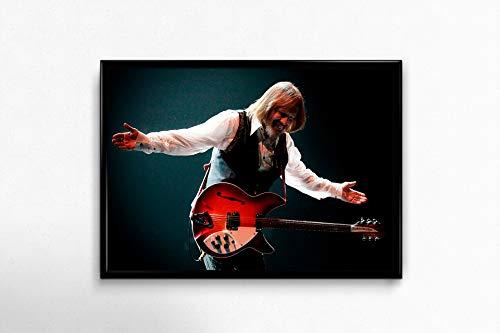 Tom Petty Poster Tom Petty Wall Poster Tom Petty Design Wall Decor Room Decor Tom Petty Gift Medium (18x24)