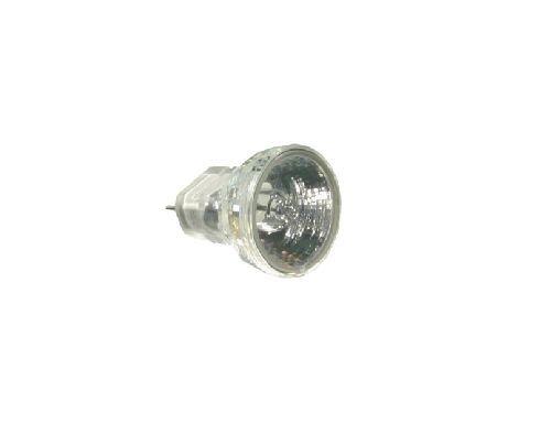 S+H NV-Halogenlampe MR8 25x25 mm Sockel GZ4 12 Volt 10 Watt 30 Grad