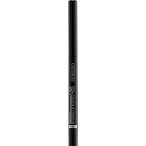 Catrice 18h Colour & Contour Eye Pencil 010 Me, My Black And I - 3er Pack