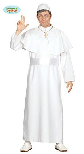 Guirca- Costume da Papa per Adulti, Taglia Unica, 80418