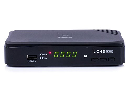 Opticum HD Lion 3 H.265 DVB-T2 HEVC Receiver (Full...