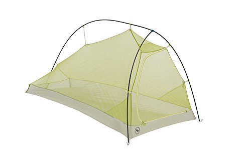 Big Agnes Fly Creek HV Platinum Backpacking Tent, Grey/Green, 2 Person