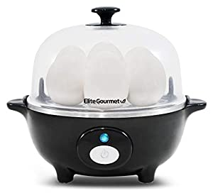 Maxi-Matic Elite Cuisine EGC-007 Easy Electric Egg Poacher and Cooker