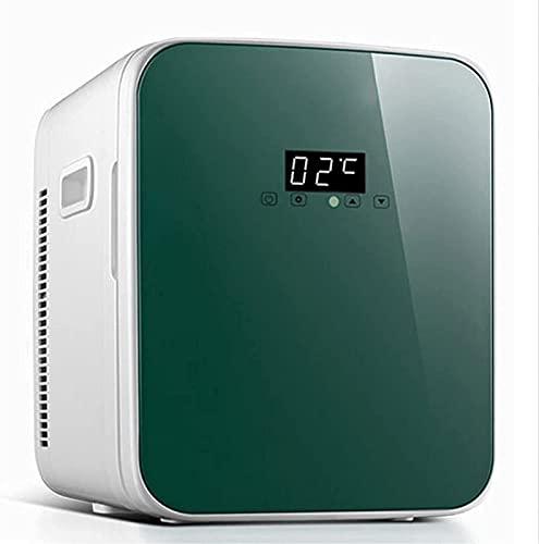 Mini refrigerador, refrigerador portátil de 16 l y refrigerador y Calentador eléctrico, refrigerador para automóvil con CA/CC, congelador pequeño para habitación, Oficina, Dormitorio, Mini